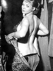 Topless dancer Candy Barr