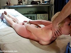 Busty blond Devon Taylor does her first ever sex scene with James Deen in this erotic...
