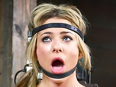 Beautiful blonde Dahlia Sky is one of those girls who always tries to pretend to be prim and...