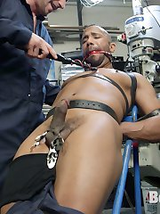 Working hard in the metal shop, Troy Sparks decides to take a break from his duties and is...
