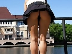Many candid students upskirt voyeur shots in public images