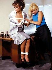 vintage bondage spanking