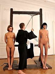 Russian student bound and punished
