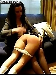 2 pert little bottoms - Spanked, Paddled and Caned to tears