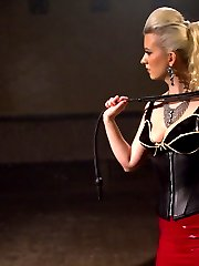 Welcome 20 year old Mandy Muse to Whipped Ass! She\'s young, sweet and eager to explore all her darkest lesbian BDSM fantasies! Cherry Torn takes this all natural girl through intense bondage, hardcore lesbian sex, pain and humiliation with hard spanking and strap-on anal sex!