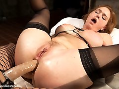 Krissy Lynn returns to Whipped Ass in this sexy role play fantasy. Krissy plays a snobby art...