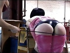 Hot spanking and other abuse