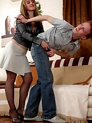 Curious guy looks for a gals king-size strap-on aching for anal initiation
