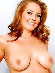All natural beauty with big tits getting her breasts soaked in warm cum