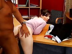 Naughty student takes a penis punishment