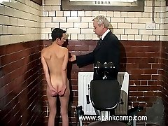 Humiliating interrogation room punishments - deep vaginal and anal inspections - blistered ass...