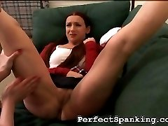 Bliss deserves a hard leather belting, making her ass redder and redder. Ela is so angry, she...
