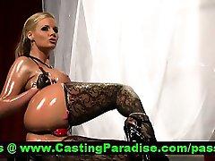Phoenix Marie stunning big oiled ass