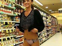 shopping flasher