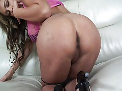 Trina Michaels gives both holes for you