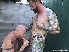 Buck Angel and Ian McQueen