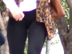 Cameltoe Spandex Leggings #01