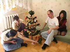 Mature Orgy In Christmas Time.