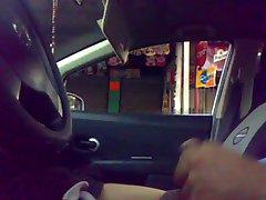 flashing car