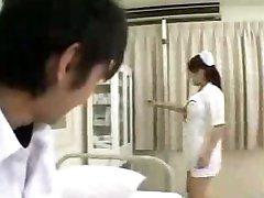 Busty Asian nurse