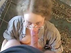 Girl with Glasses - Blowjob
