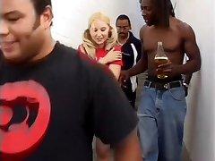 Machelle Loves Her Screaming BBC Gangbang