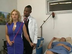 Sarah Vandella Goes To The Doctor For A Check-Up