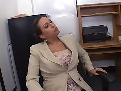 Hot Busty Secretary Alisandra Monroe Banged in Office