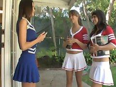 Seducing a cheerleader.