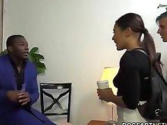 the cucks wife takes a black cock