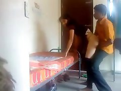 22 BF set hidden cam in room enjoys with GF