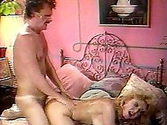 Retro couple fucking on bed