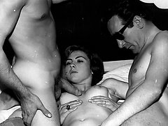 Sleazy 1950s London nylon stocking porno!