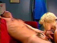 Alex Storm, Chessie Moore, Racquel Darrian in classic sex scene