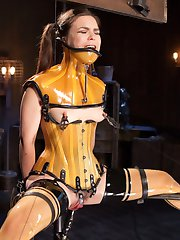 We knew we had to bring our roughest A Game when Juliette March showed up, so we put this nasty pain slut in a fantastic hell of device bondage. The Pope, the abuser of honor, knows how to deliver orgasmic pain with extreme pleasure...We can still hear the screams. And if extreme restraints, cattle prod, and corporal punishment isn't enough for you, we even shave this slut's pits. You are welcome!