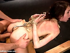 Luna Kitsuen reenacts a fantasy of complete submission as she becomes the sole property of a...