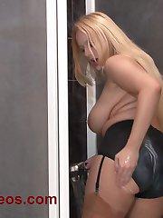 Angel Wicky huge tits wet panties