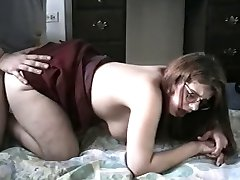 Big butt, big tit GF doggy and facial!