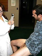 Jenna is A Jaded Nurse - Club Tug Handjob Video