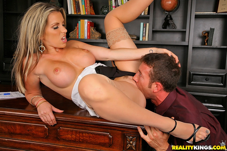 Fucking my big tits babe Super Hot Fucking Big Tits Babe Sucks A Cock Over The Desk To Get A Business Deal Though Then Gets Pounded Hard From Behind In These Hot Big Tits Exec Fucking Pics