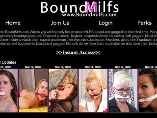 Bound MILFs