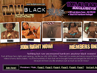Raw Black Amateurs