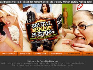 Brutal Ball Busting