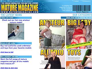 Mature Magazine