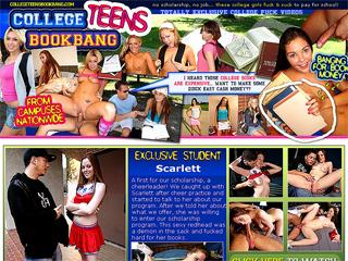 College Teens Book Bang