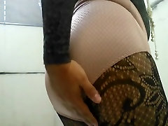 Lace lingerie and large and tight granny panty from Duloren