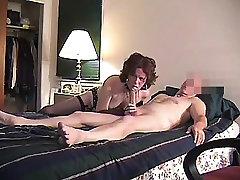 STONED MATURE LOVES SUCKING BIG COCKS