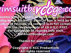 Whitney Morgan swimsuit bondage Hogtied and helpless