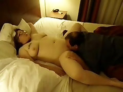 Chubby wife fucks bbc & chubby hub cleans-up