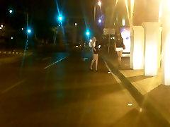 Nikki Ladyboys is a street prostitute